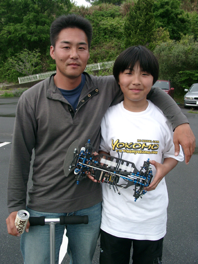松倉選手と松山選手