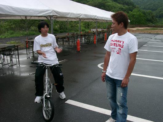 松倉選手とOH!月
