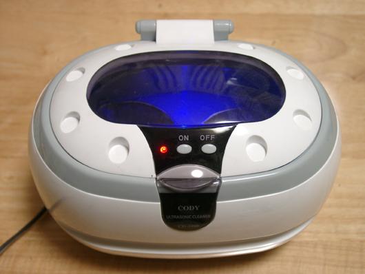 ベアリング超音波洗浄 1