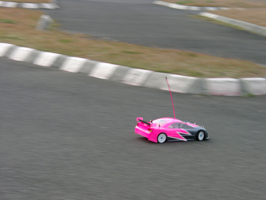 2006.11.12第10戦Aki走る