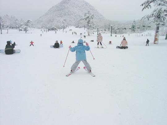 2007.1.27大山スキー 3
