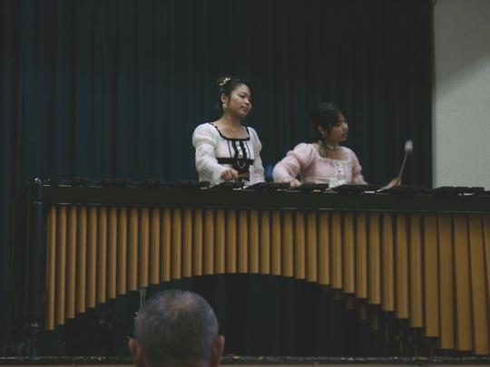 2007.2.17マリンバ演奏