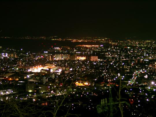 黄金山からの夜景 3