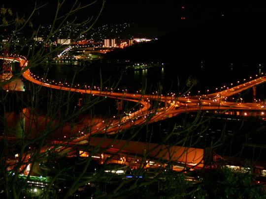黄金山からの夜景 4