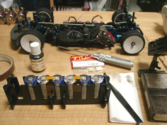 2007.3.5バッテリー組み 1