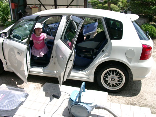 2007.5.20ママシビック掃除