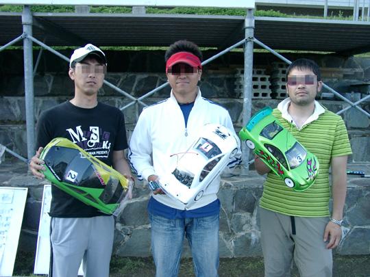 2007.6.10ビギナー表彰台