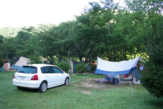 2007.8.26キャンプ 1