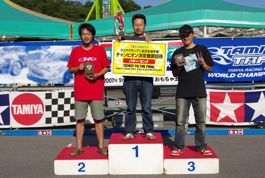 2007.9.22バギー表彰台 2