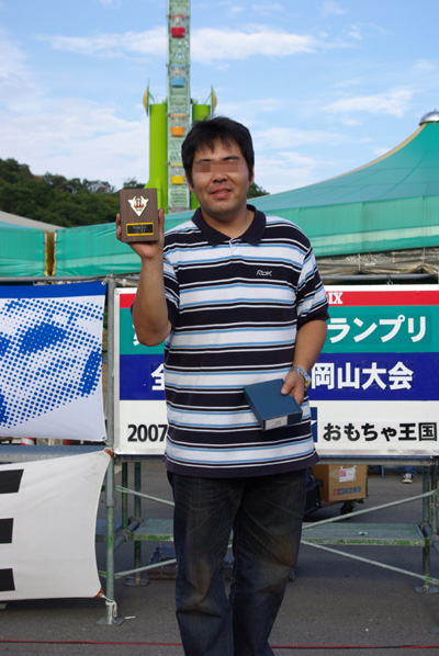 2007.9.23JUNくん表彰台