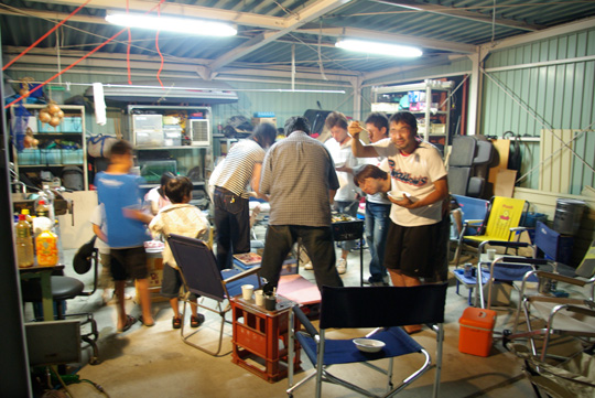 2007.9.26うっさん邸 2