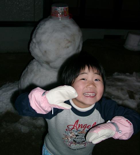 2008.1.29雪だるま 2