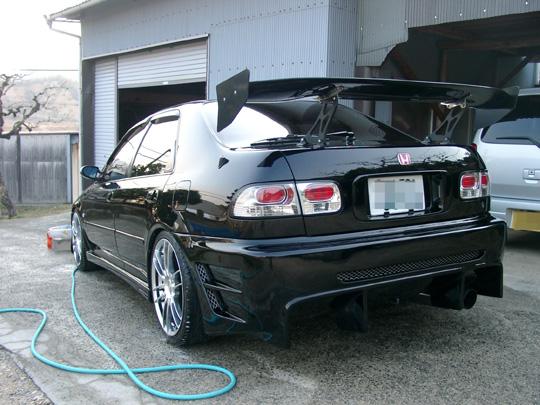 2008.3.10フェリオ洗車 2