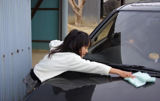 2008.3.23フェリオ洗車 3