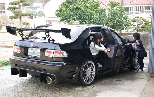 2008.3.23フェリオ洗車 5