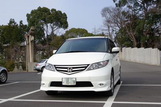 2008.3.29エリシオン納車 2
