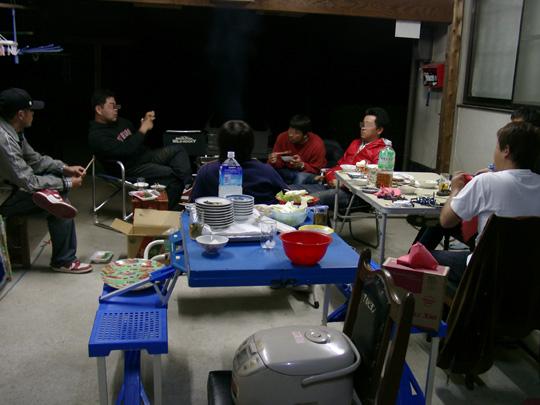2008.4.4こやす邸BBQ 1
