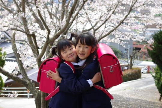 2008.4.8真由入学 3