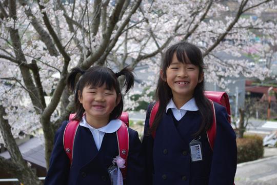 2008.4.8真由入学 1