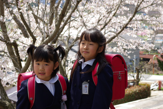 2008.4.8真由入学 2