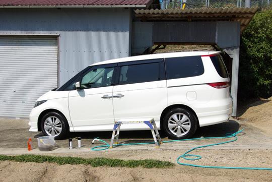 2008.4.22エリ洗車 1