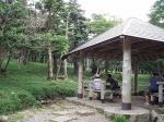 尾鷲辻の休憩所