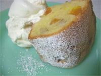 バナナとあんずとクルミのケーキ2