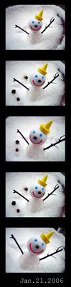 雪だるま2006