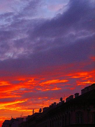 ウィーンの夕焼3
