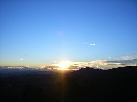 夕日~蒼の森3~