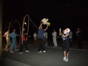 小森谷獅子練習④