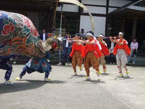 吉田町獅子舞