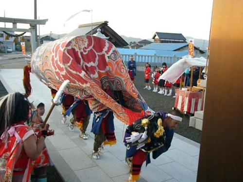 H200408獅子舞④