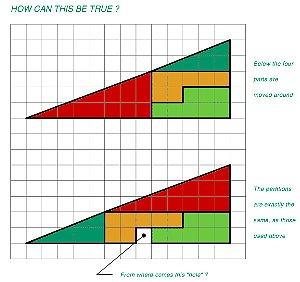三角形の面積の謎。@父子ふたりで。