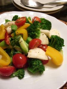たっぷり野菜のガーリックアンチョビ風炒め