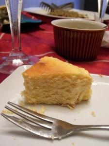 豆腐のチーズケーキ②