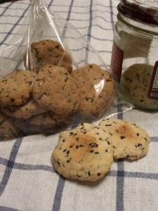 ヘルシーゴマクッキー