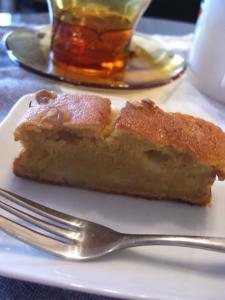 バナナのアーモンドケーキ