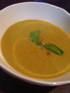 パプリカとかぼちゃのスープ