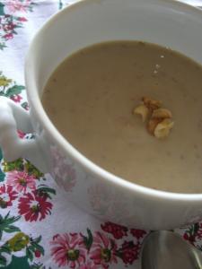 さつまいもと栗のスープ