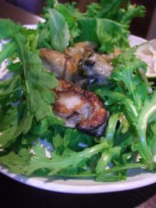 牡蠣サラダ