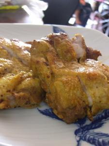 チキンのカレーソテー