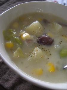 チャウダースープ