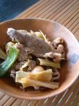 牛肉と梅干しの香酢煮