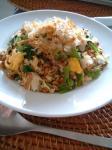 小松菜のチャーハン