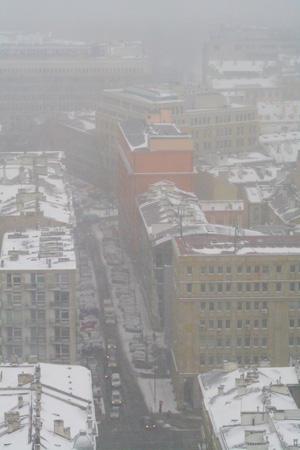 雪のワルシャワ2