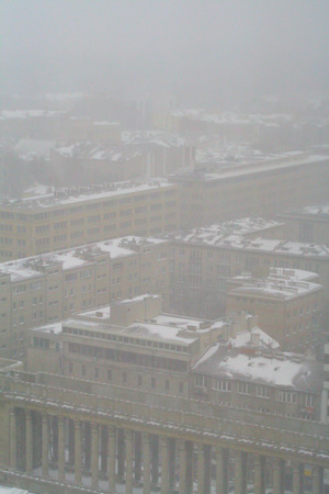 雪のワルシャワ3