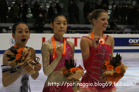 2007 Grad Prix Final Ladies Medalists