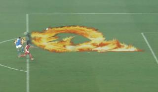 中国サッカー技「炎の反則」