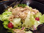 きのこと豚肉のサラダ